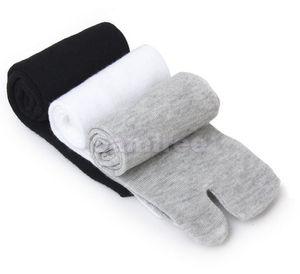 Al por mayor-footful de las mujeres de los hombres japonés Kimono Flip Flop Sandal Split Toe Tabi Socks