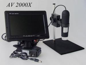 Microscope numérique d'appareil-photo HD CMOS d'appareil-photo HD de microscope de matériel de haute qualité de microscope AV