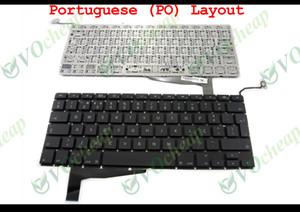 """NOUVEAU Clavier pour ordinateur portable pour Apple MacBook Pro 15 """"Unibody A1286 2009 2010 2011 2012 Noir Portugais Mise en page PO (avec panneau rétro-éclairé)"""