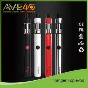 Kanger original kit top evod kanger atacado kit starter topevod com 1.7 ml atomizador evod kit