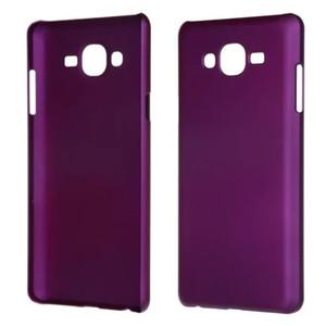 Cas de peau de luxe couverture rigide mince ultra mince givré pour Samsung Galaxy On7 G6000 mat téléphone sac
