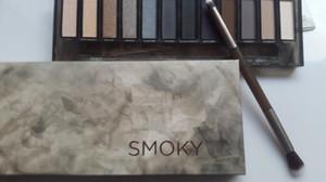 Drop Ship Makeup ظلال العيون لوحة ظلال العيون 12 لون NUDE Smoky Palette الشحن المجاني بسرعة من Grandsky
