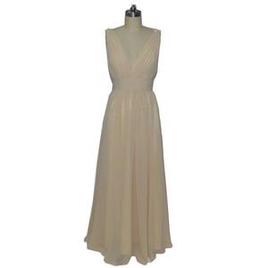 New Arrival Vestido Para Madrinha A-line V-Neck Custom Made Cap Sleeves Plus Size Bridesmaids Formal Dresses