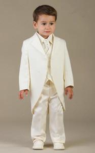 Littlepage Boy Suit Boy Düğün Suit Boys 'Biçimsel Durum Kıyafetleri Custom Made Suit Smokin smokin boys (ceket + pantolon + yelek)