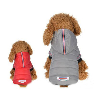 Pet Dog Зимняя Одежда Открытый Водонепроницаемый Собак Куртка с капюшоном Мода ПЭТ Костюм Одежда Теплое пальто Для Чиухуа