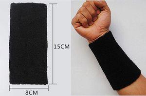 Sport Baumwolle Basketball Lange Armband Elbow Guard Pad Schweißband Sport Handgelenkstütze