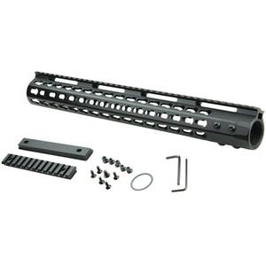 """Keymod Free Float Rifle Style 15"""" Inch Handguard Rail Mount"""