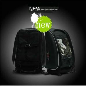 Envío gratis Motorcycle Fashion TANK Tanque de Combustible de Aceite Sacos de Asiento Bolsas de Moto Racing Tail Bags paquete de Equipaje Impermeable de Oxford