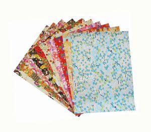 Frete grátis papel Washi papel Japonês para DIY origami artesanato scrapbook - 19x27 cm 50 pçs / lote LA0069 atacado