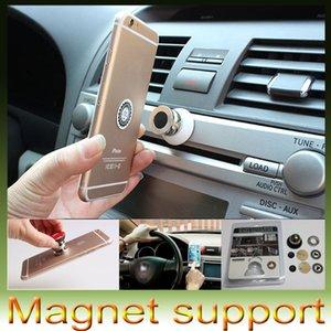 Support de voiture aimant pour Iphone 6s 5s Accessoires GPS Cradle Kit pour Samsung Support de support de support s6 Magnétique Smart Support de voiture de téléphone portable