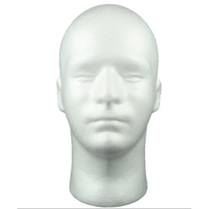 Livraison gratuite Hat Display Wig formation tête modèle hommes tête