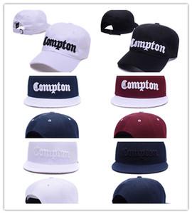 Хорошее качество Новое прибытие моды COMPTON Snapbacks колпаки стартер compton черный самые популярные спортивные шлемы высокого качества