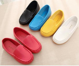 Autumn Spring pu Children Shoes Girl Breathable Sneaker Shoes Boys&Girls Not Smelly Feet Soft Kids Sneakers