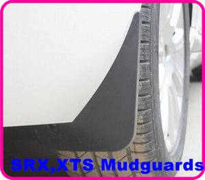 High quality pp material 4pcs mudguard,fenderboard,mudflaps for Cadillac SRX,XTS 2010-2015, Good Flexibility,no abnormal odour