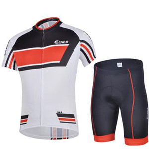 فريق cheji ركوب الدراجات skinsuit قصيرة الأكمام الرجال ركوب الدراجات الجوارب والسراويل الضيقة