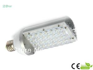 도매 -2PCS / LOT, 28W 전력, 85 ~ 265V AC 전압, CE 및 RoHS 인증 E40 LED 거리 전구