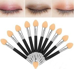 10 Pcs Set Double Edge Makeup Brushes Professional Eyeshadow Brush Set Foundation Powder Beauty Tools Cosmetic Brush Kits