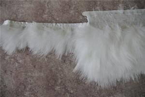 Ücretsiz Kargo 10 yards / lot beyaz Marabou türkiye tüy trim fringe 3-4 inç geniş el sanatları düğünler için kostümleri malzemeleri