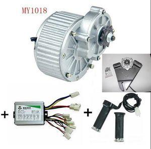 450W 24V / 36V MY1018 DC moteur brossé vélo électrique moteur ebike brossé DC kit de vélo de moteur électrique