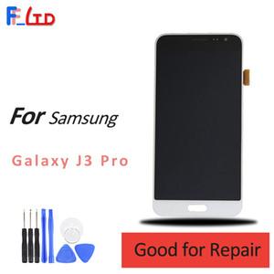 Super AMOLED HD per Samsung J3 Pro J3110 Display LCD Digitizer con Touch Screen Sostituzione 5 pollici 100% Testato Spedizione gratuita