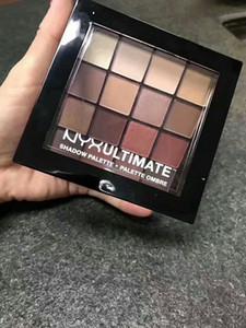 أحدث مجموعة مظلل العيون NYX Ultimate USP03 الدافئة المحايدة 16 لونًا لمستحضرات التجميل في ظل العيون
