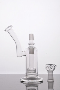 2016 Bonne diffusion Glass Bubbler Pipe à eau en verre avec dôme à clous Bol en verre et adaptateur Deux fonctions Bonne lisse hits Livraison gratuite