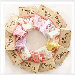 Korean Organic Cotton Kinder Unterwäsche Höschen Kurze Hosen 100% Baumwolle Baby Jungen Mädchen Briefs Unterhose für Party Kleid Kinder Kleidung