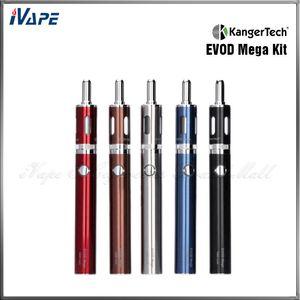 Kit originali Kanger EVOD Mega Starter Kit Kangertech EVOD Mega E per sigarette 1900mAh Batteria 2.5ml Atomizzatore Kit Kanger Express