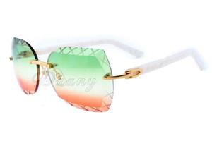 اللون نقش المرآة، جين ديان أزياء ذات جودة عالية نحت النظارات الشمسية 8300593 الترفيه خفيفة للغاية لوحة بيضاء النظارات الشمسية، حجم: 60-18-140