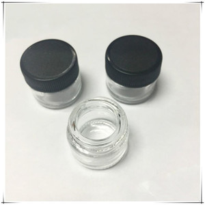 Wholesale Crazy selling Glass Jars Wax Containers Dab Jar Wax Concentrate Packaging glass concentrate jar Empty Vape Pen Packaging