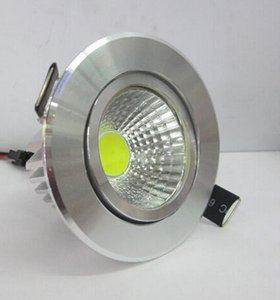 2015 Hot vente Dimmable COB LED Downlight plafond encastré LED vers le bas AC85-265V lumière