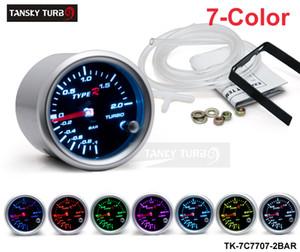 "Tansky - Universal Cars 'Medidor / Medidor TYPE-R 2 ""/ 52 mm 7 CONFIGURAÇÕES DE COR BOXADOR DE IMPULSO BAR TK-7C7707-2BAR"