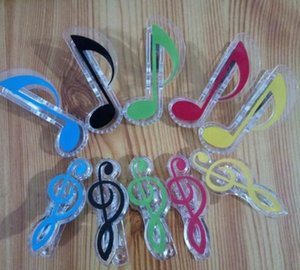 new arrival music clip stationery folder clip,musical note clips Piano Book Page Clips