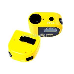 (4 teile / los) Handheld Ultraschall Entfernungsmesser Messwerkzeug LCD Laserpointer Designator Hintergrundbeleuchtung entfernungsmesser 60ft auftrag $ 18 no track