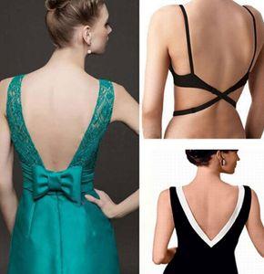 Mode Sexy Sous-vêtements Dos Dos Nu Soutien-gorge Adaptateur Convertisseur Rallonge Crochet Noir Blanc Beige