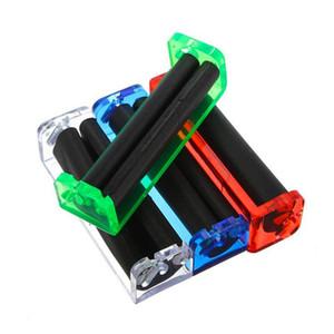 Máquina de Rolamento de plástico Comprimento 70mm Protable Rolo de Tabaco Fabricante de Cigarros Dispositivo de Ferramenta de Filtro de Plástico Rolo Grinder