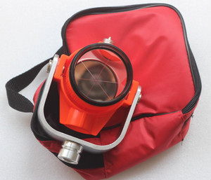 Freeshipping NOVO Red mini Único Prisma w / Bag para estações totais TOPCON / SOKKIA / NIKON Topografia