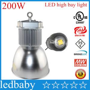 200W LED Haute Baie Lumière Meanwell Power Driver AC 85-295V LED Lumière Industrielle Livraison Gratuite par DHL FEDEX