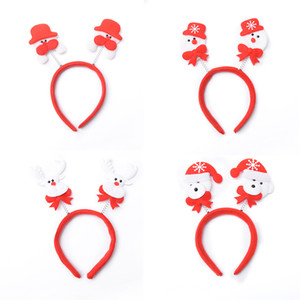 Christmas Hair Bands Santa Snowman Reindeer bear head bands christmas party accessories cute fun good quality holiday hairbands
