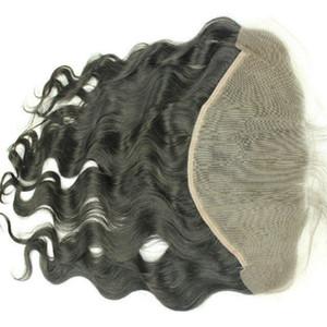 13x6 레이스 정면 브라질 레이스 정면 폐쇄 아기 머리 표백 매듭 바디 웨이브 전체 정면 레이스 클로저