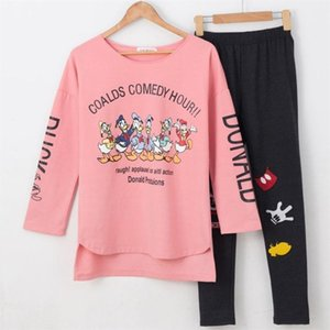 Vente en gros- XXL Plus Size Coton Pyjamas Pyjamas pour les femmes Fille Pijama Femme Pijama Feminino Ppajama Femmes Pigiami