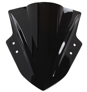Мотоцикл Double Bubble Windshield WindScreen на 2013-2014 годы Kawasaki Ninja 300 300R EX300 13 14 Черный цвет