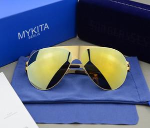 Al por mayor-2016 Mykita gafas de sol hombres mykita puntos mujeres hombres gafas de sol deportivas gafas de sol mujer diseñador de la marca gafas gafas de sol feminino