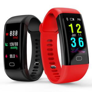 0.96 OLED Couleur écran Bluetooth Smart Band Bracelet F07 Imperméable À L'eau Nager Fréquence Cardiaque Smartwatch Fitness Montre Pour Android iOS