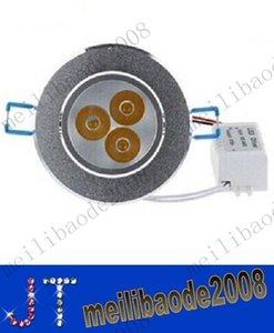 9W 3X3W Sıva Altı Led Gömme Lamba AC 110-240V Kısılabilir Led Tavan Armatürü Sıcak / Doğal / Soğuk Beyaz + Güç Kaynağı MYY10084A
