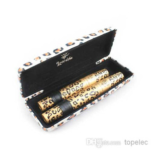 1 Set = 2 Pz Wild Leopard Natural Fiber ciglia 3D Trapianto MASCARA Gel trucco Amore Alpha impermeabile doppio rimel maquiagem da DHL