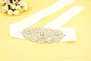 100% image réelle pas cher éblouissante Bling Bling ceintures et ceintures ceintures de mariée strass cristal perles Vintage soirée accessoires de soirée