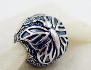 جديد 100 ٪ S925 فضة Lacewing فراشة كليب سحر الخرزة يناسب الأوروبي باندورا مجوهرات أساور القلائد المعلقات