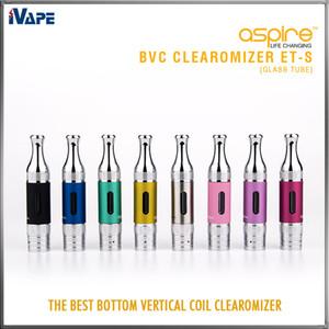 Aspire ET-s Clearomizer 3 мл стеклянная трубка ETS BVC BDC E электронные сигареты распылитель ET-s Glassomizer с BVC BDC сменная катушка доступна