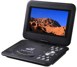 """Reproductor de DVD EVD portátil de 9.8 """"Juegos de TV USB SD Imagen JPG Radio Pantalla LCD giratoria"""